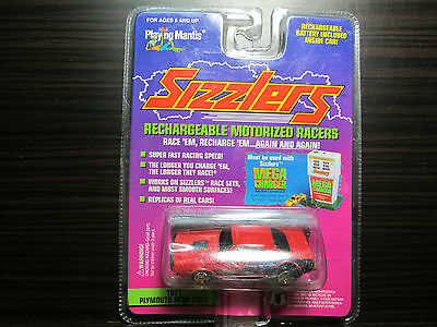 1996 PLAYING  MANTIS SIZZLERS,RED 71 HEMI CUDA..NEW NIMH BATT INCLUDED