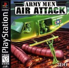 Army Men: Air Attack Sony PlayStation 1, 1999 Black Label 3DO