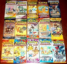 POKEMON BOOSTER PROMO ECHANTILLON COLLECTOR - 15 Différents FR- Lot N° LPEF15 01