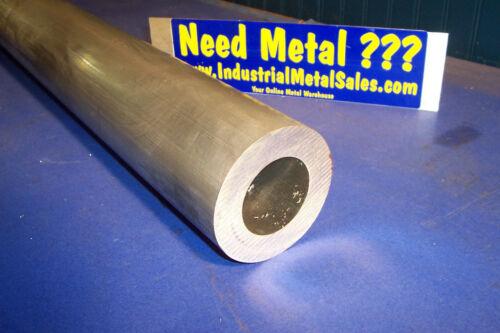 """3-1//2/"""" OD x 2/"""" ID x 48/"""" x 3//4/"""" Wall 6061 Aluminum Round Tube-/>3.5/"""" OD x .750/""""w"""