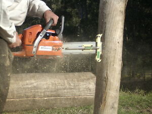 Mortice Safe Chainsaw Attachment Mortise Pro Fencing Post
