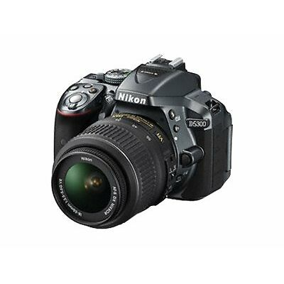 Nikon D5300 With 18-55mm VR Lens