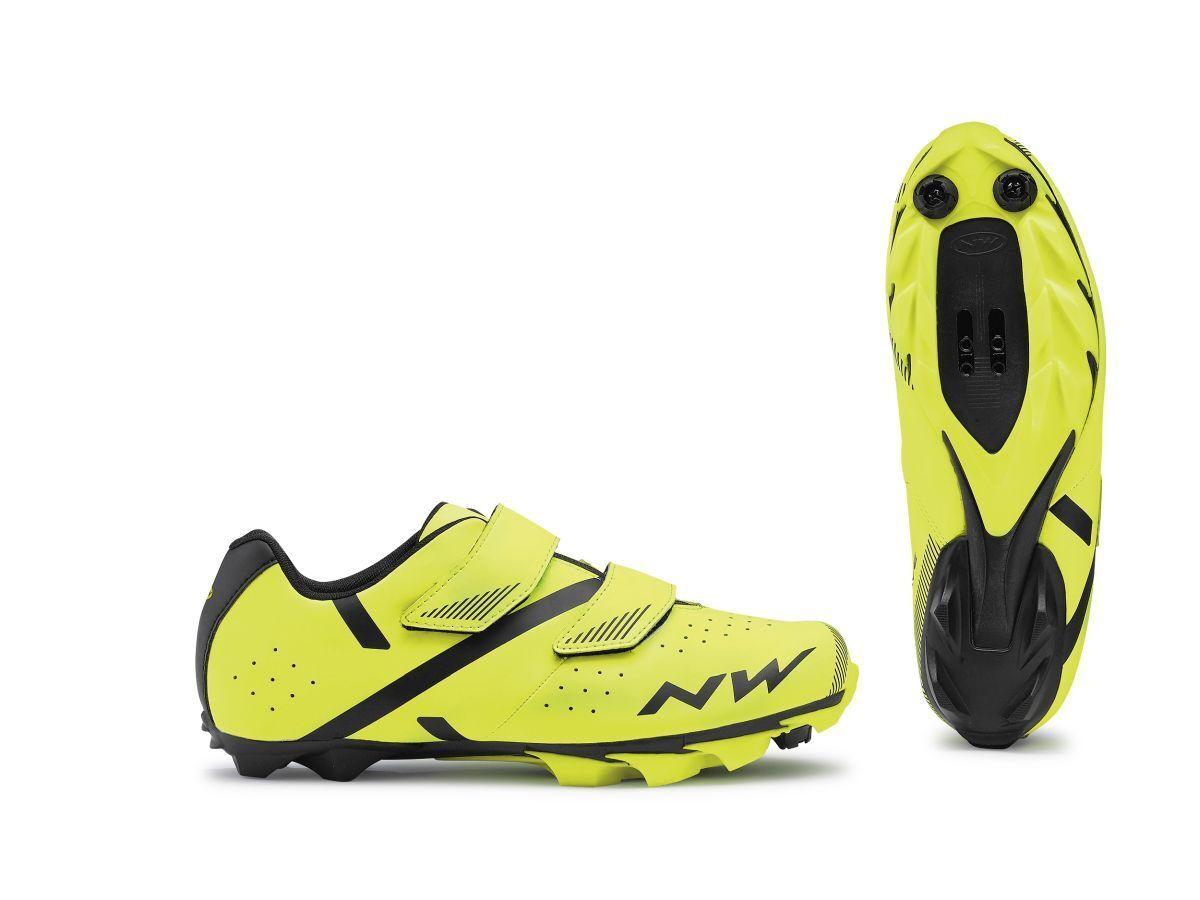 Northwave Spike 2 MTB Fahrrad Schuhe gelb schwarz 2019