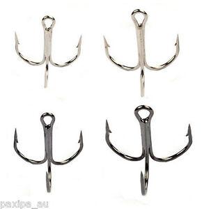 Bulk 100pcs fishing treble hook minnow popper crankbait for Bulk fishing hooks