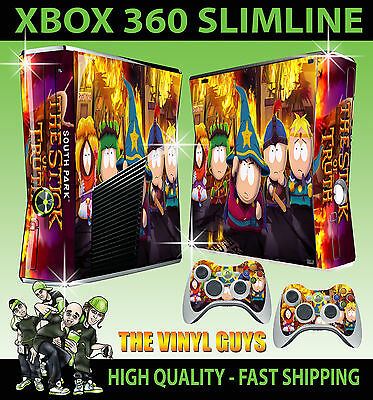 South Park The Stick of Truth Game Skin for Xbox 360 Slim Console