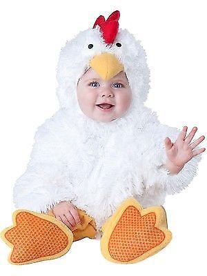 Incharacter Cluckin Cutie Chicken Infant Child Baby Halloween Costume 6058