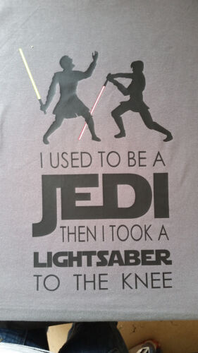 I used to be a Jedi Star Wars T-shirt for Women  S-XXL