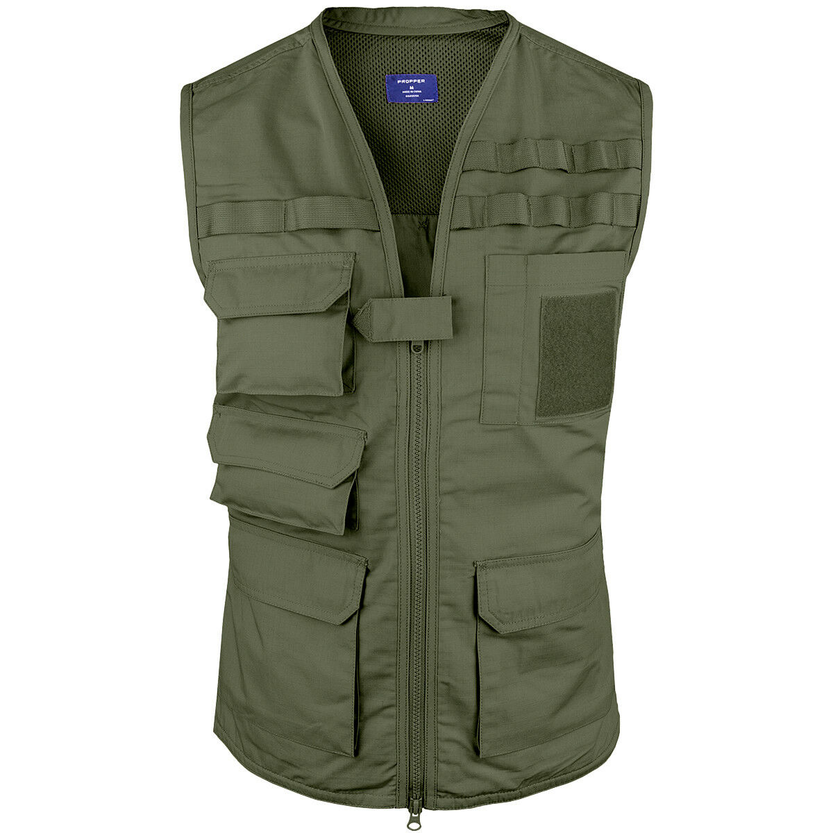 Propper Tactical Vest Airsoft Paintball Fishing Hiking Ripstop Travel Mens Olive