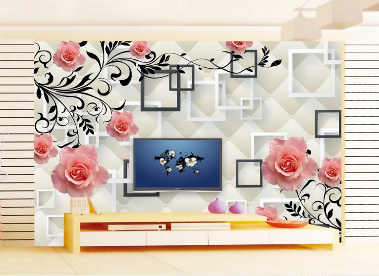 3D Art Laces Frames 87 Wall Paper Murals Wall Print Wall Wallpaper Mural AU Kyra