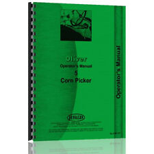 Implement Operators Manual For Oliver 5 Single Row Pull Type Corn Picker