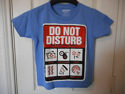 Boys Graphic T Shirt Size X-Small 4//5  Do Not Disturb Unless You Have