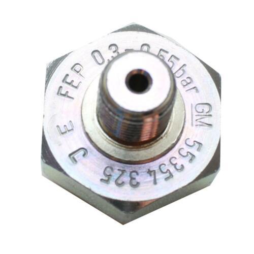 Öldruckschalter Öldrucksensor schwarz 0,3-0,55 bar div original Opel 55354325