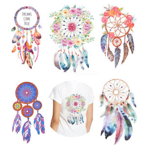 3D-Dream-Catcher-Washable-Iron-on-Clothes-Patches-Stickers-Appliqued-Decoration