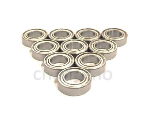 √ BEST QUALITY PACK OF 10 MR117 zz 7x11x3mm DOUBLE SHIELDED MINIATURE BEARINGS √