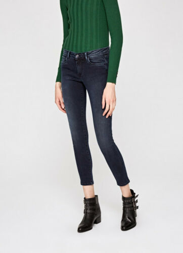 super Pepe moyenne skinny coupe taille Lola Damenjeans Jeans BBfHnpU