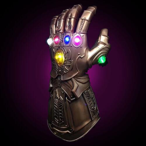 Avengers Thanos Glove Infinity Gauntlet Legends Replica Gauntlet Prop  LED