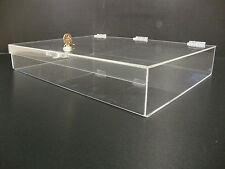Displays2buy Acrylic Countertop Display 19 X 13 X 3 Locking Security Showcase