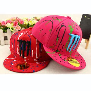 Kids-Embroidery-Baseball-Cap-Children-Boy-Girl-Racing-Motor-Hiphop-Snapback-Hat