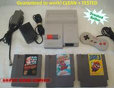 Nintendo NES-101 ORIGINAL TOP LOADER Console System Bundle Super Mario 1 2 3