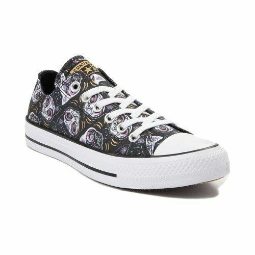 NEW PRINT Converse Chuck Taylor All Star Lo Sugar Skulls CATS