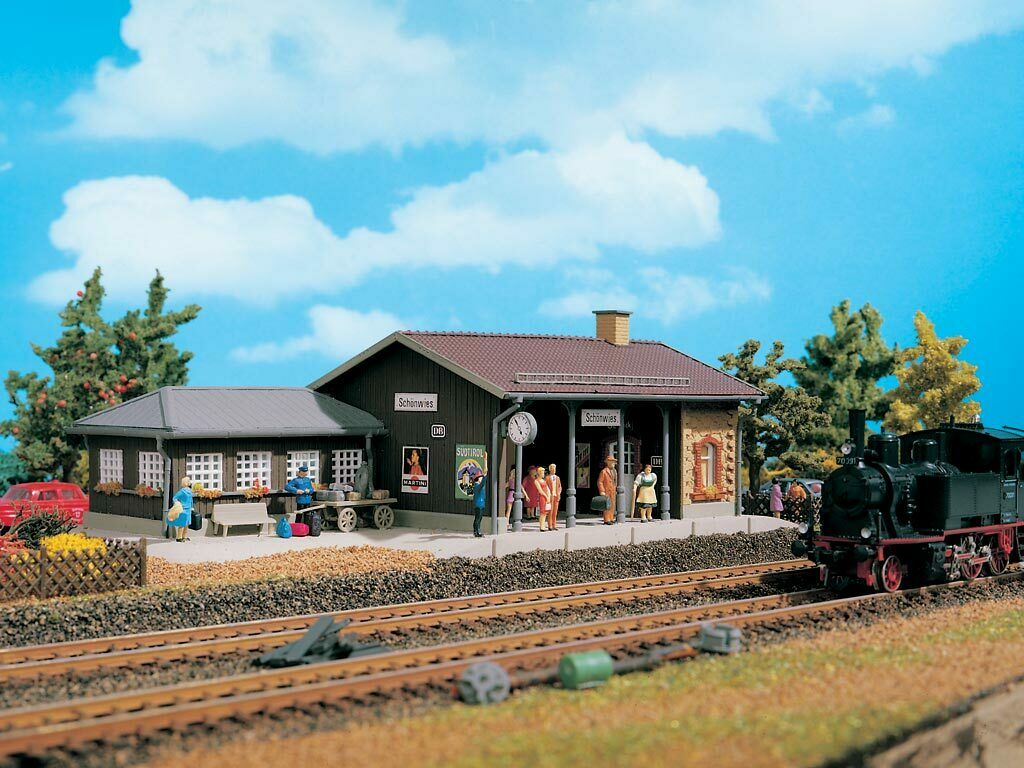 43524   3524 Vollmer HO Kit of Station Tonbach