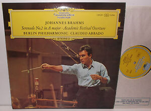 139 0371 Brahms Serenade No2 amp Academic Festival Overture Berlin Phil Abbado - <span itemprop='availableAtOrFrom'>London, United Kingdom</span> - If you are not completely satisfied with your purchase, you may return it to us within 7 days of receipt in its original condition for a refund. The refund will cover the initial cost of t - London, United Kingdom