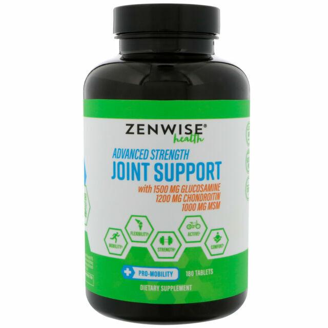 Glucosamine Sulfate Chondroitin MSM Curcumin - Extra Strengt