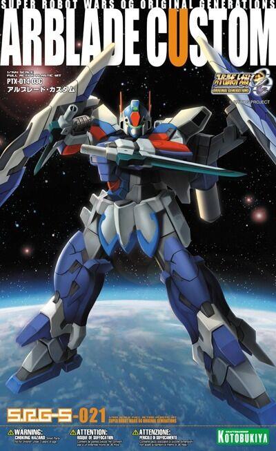 Kotobukiya Super Robot Wars Og SRG-S 021 Ptx-014-03c Arblade Personnalisé