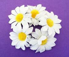Daisy Flower Bun Ring Scrunchie Hair Garland Bridesmaid Bridal Festival Ballet