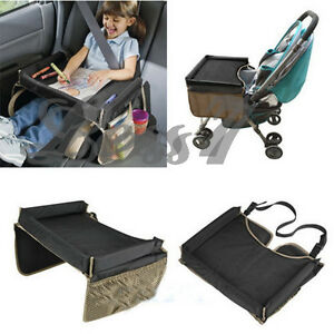 Play Snack Kid Baby Toddler Car Seat Safety Travel Tray