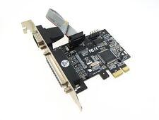 PCI-E PCI Express Parallel LPT Serial Port Card DB25 DB9 RS232 mach3 mach2