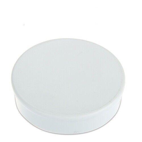 hält 2,7kg weiß 10 x Pinnwandmagnete Memomagnet Ø 30 mm x 8 mm Neodym
