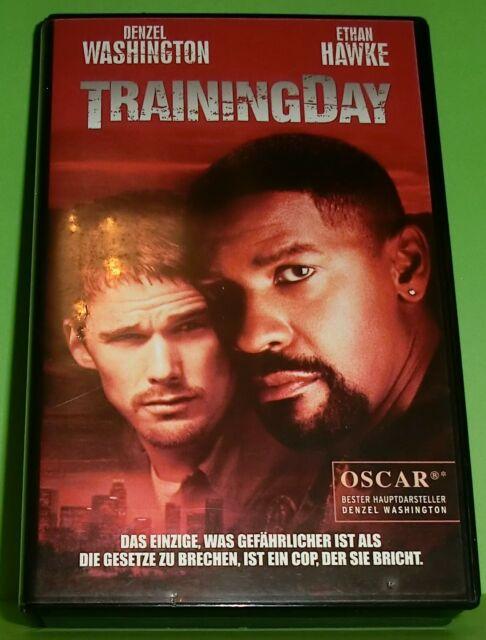 Training Day (VHS Kassette) Denzel Washington, Ethan Hawke | Thriller