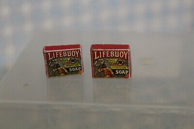 2 Boxes Of Lifebuoy Soap DOLLS HOUSE MINIATURE