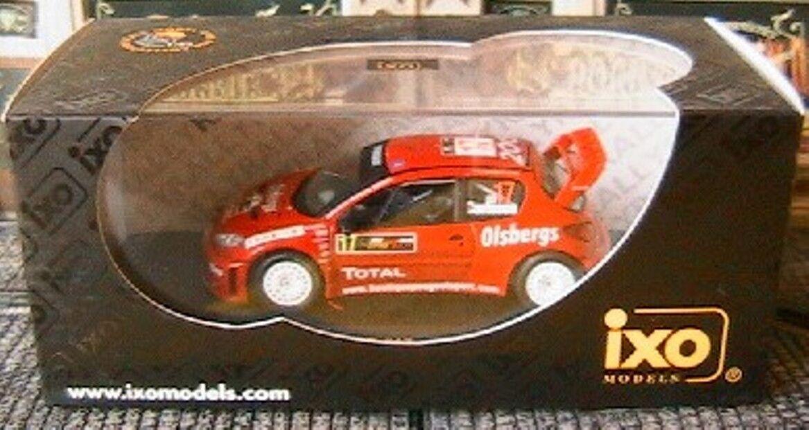 PEUGEOT 206 WRC  17 RALLY CYPRUS CYPRUS CYPRUS 2005 IXO 1 43 CARLSSON new ANDERSSON RALLYE 7956f7