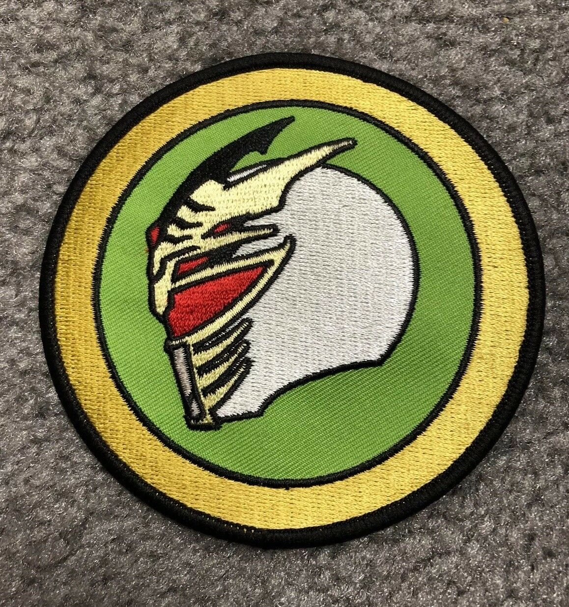 Mighty Morphin Power Rangers Lord Drakkon Patch Power Morphicon Exclusive