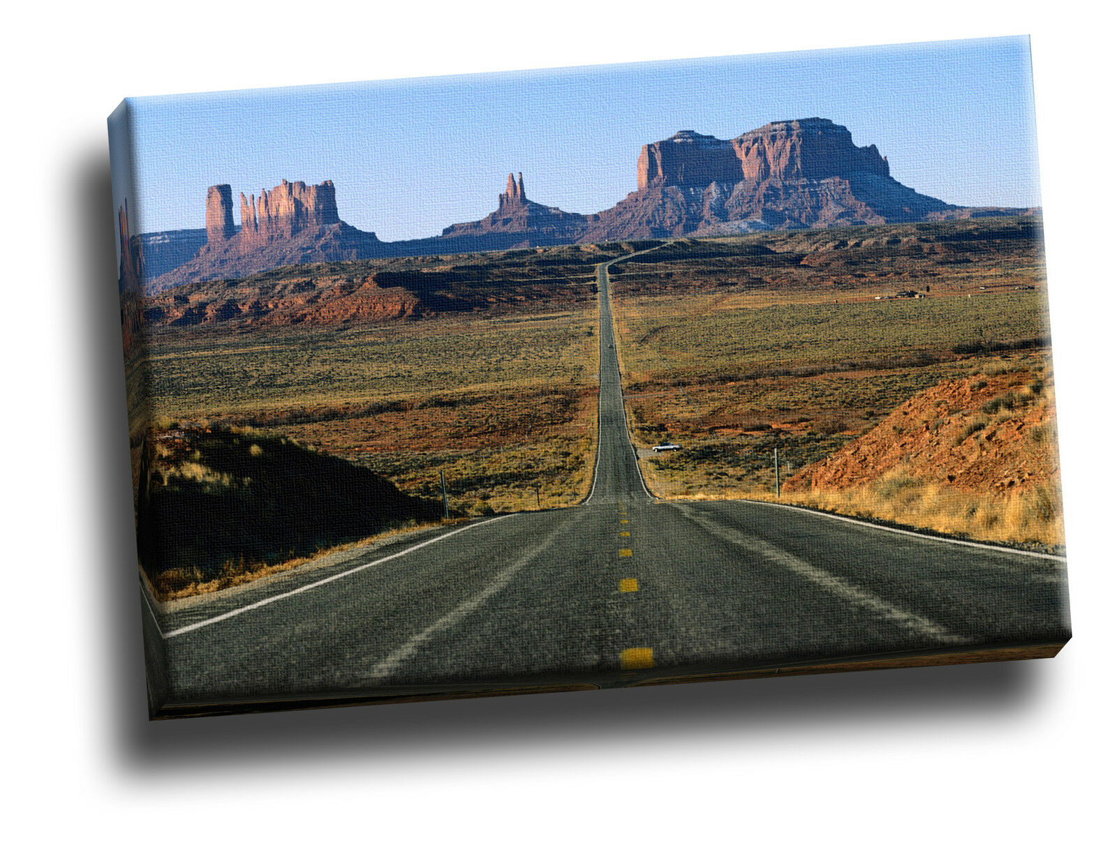 Road Through Monument Valley, Arizona Giclee Canvas Picture Art