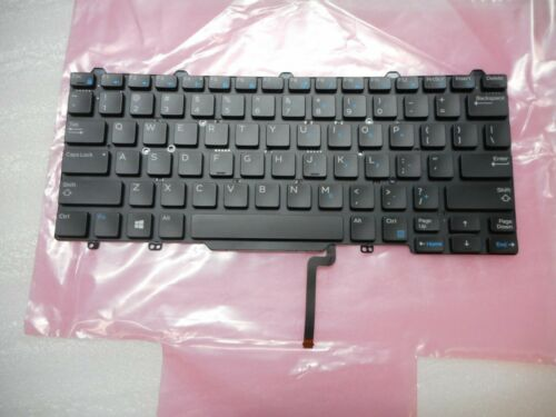 New Genuine Dell Latitude 13 7350 Laptop Backlit Keyboard PXWGK, BT 01