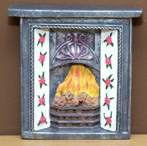 1:12 Dolls House Tiled Fireplace