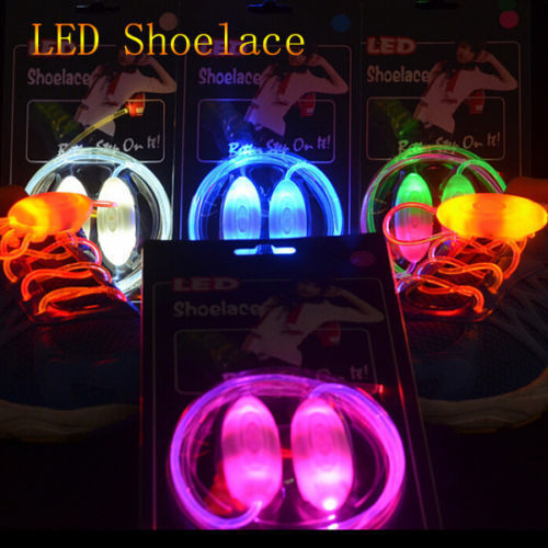 Xmas Gift Boys Girls 7 LED Light Up Luminous Fabric Sneakers Kids Casual Shoes