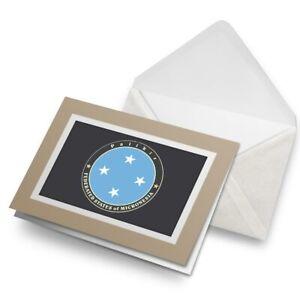 Greetings-Card-Biege-Plaikir-Federal-States-Of-Micronesia-5088