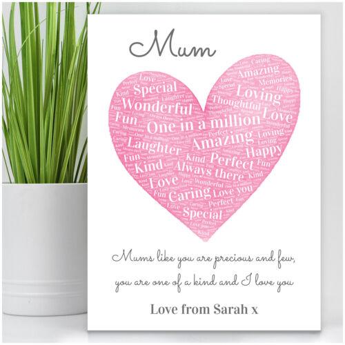 PERSONALISED Birthday Gifts Presents for Mum Mummy Nanny Granny Mam Christmas