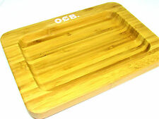 "OCB Bamboo Rolling Tray 10"" x 7"" - Limited Edition - Authentic - NEW RYO Tobacco"