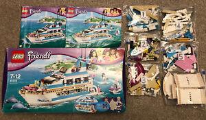 LEGO Friends 41015 Dolphin Cruiser - 100% Complete - Retired - Rare