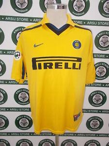 maglia-calcio-shirt-maillot-camiseta-trikot-RONALDO-INTER-TG-S-1999-00-NO-THAI