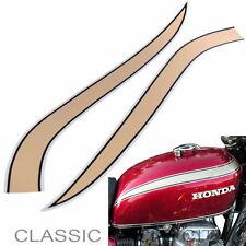 Honda CB 750 Four K2 Tankdekor Tankzierstreifen gold schwarz silber Tank Decals