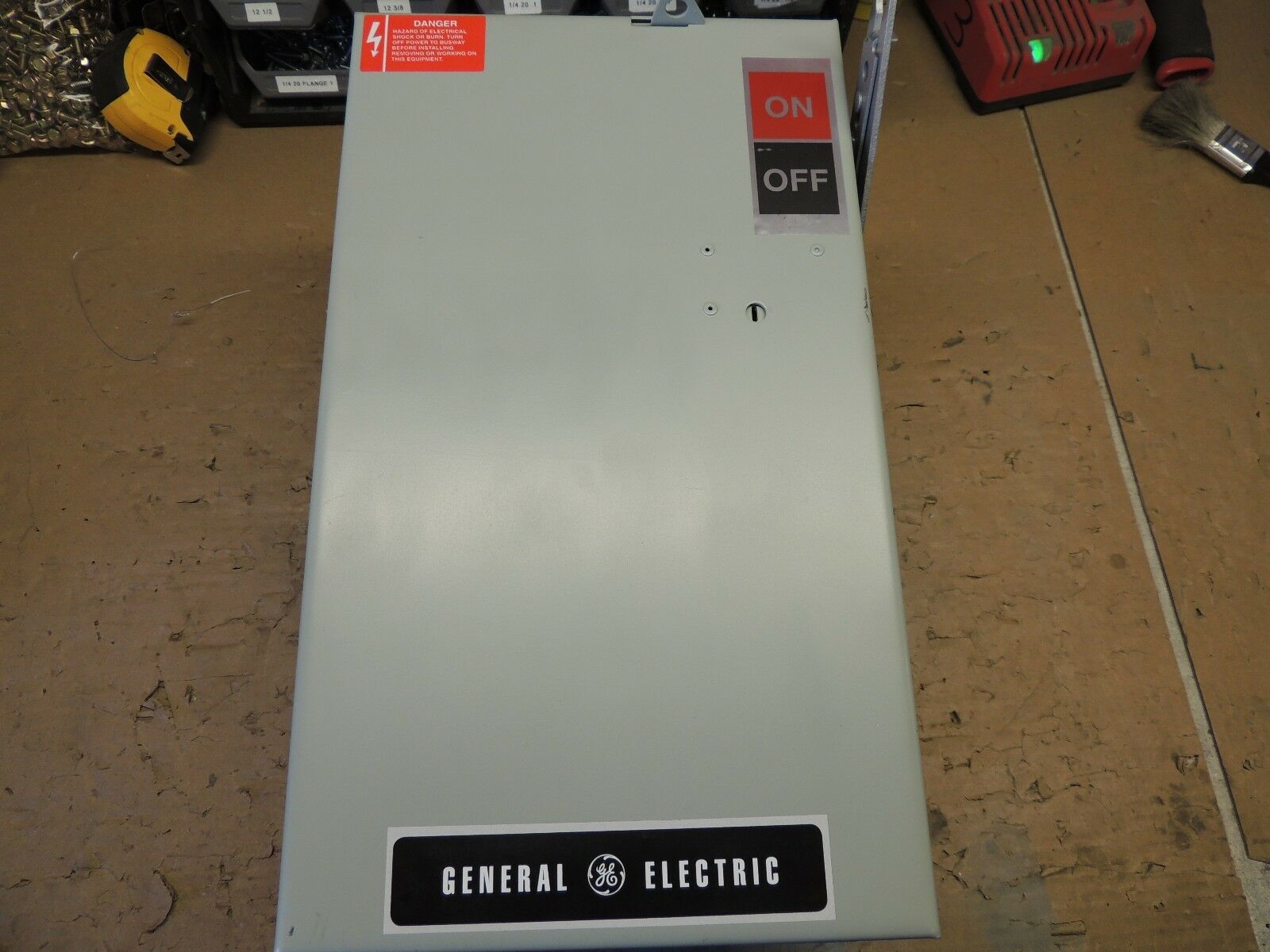AC463R, GE BUSWAY SWITCH PLUG, RECON 100 AMP, 600V, WITH 4 WIRE