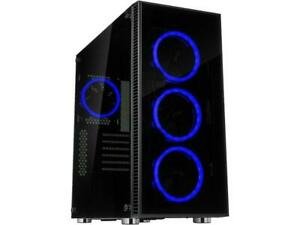 Rosewill-ATX-Mid-Tower-Gaming-PC-Computer-Case-with-Dual-Ring-Blue-LED-Fans-360