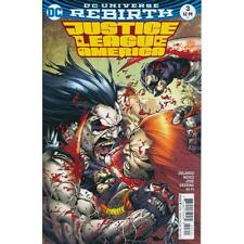 JUSTICE LEAGUE OF AMERICA #3 DC Rebirth 1st Print 29/3/17 NM