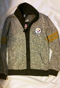 promo code d4bef 489ef Details about NFL Pittsburgh Steelers Womens Button Up Jacket, Various  Sizes - New with Tags